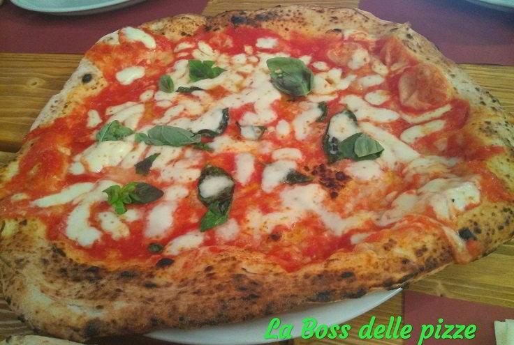 La Pizza Margherita Style
