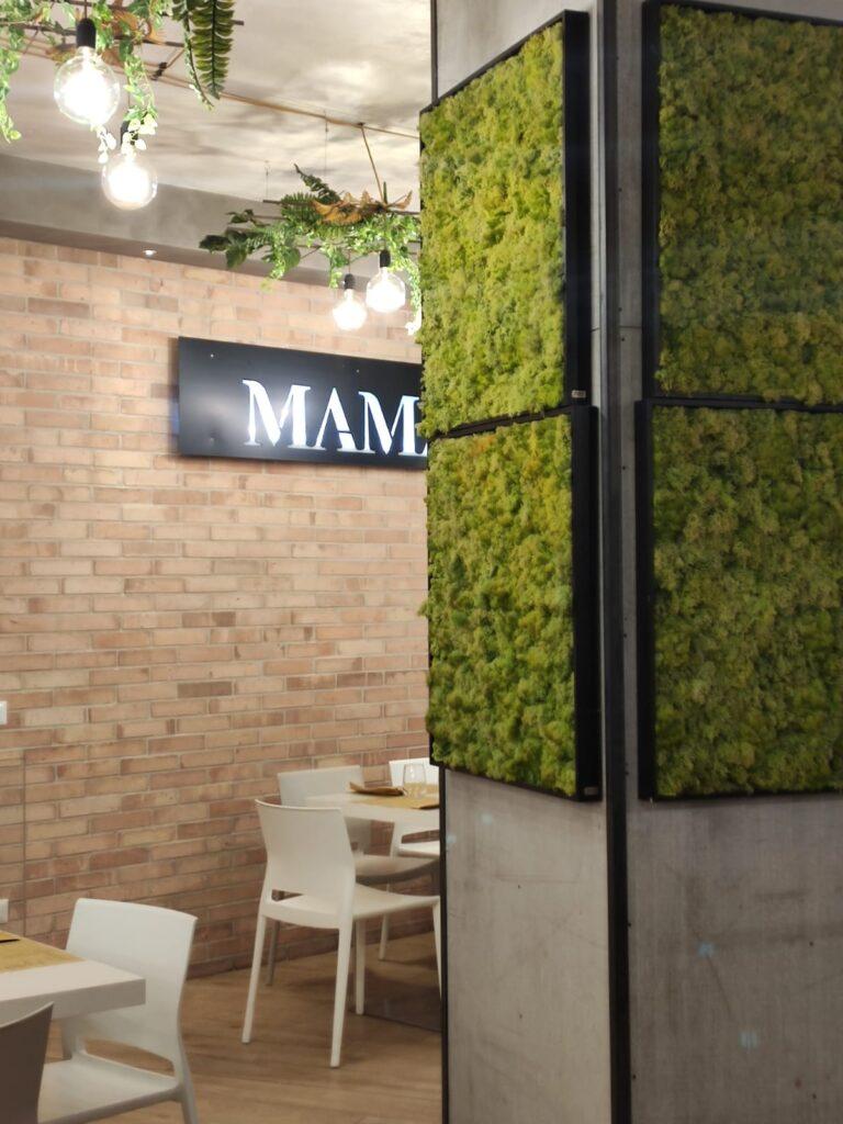Mamà Pizza Passion, dettagli della sala