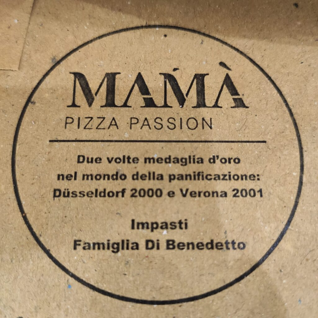Mamà Pizza Passion menù