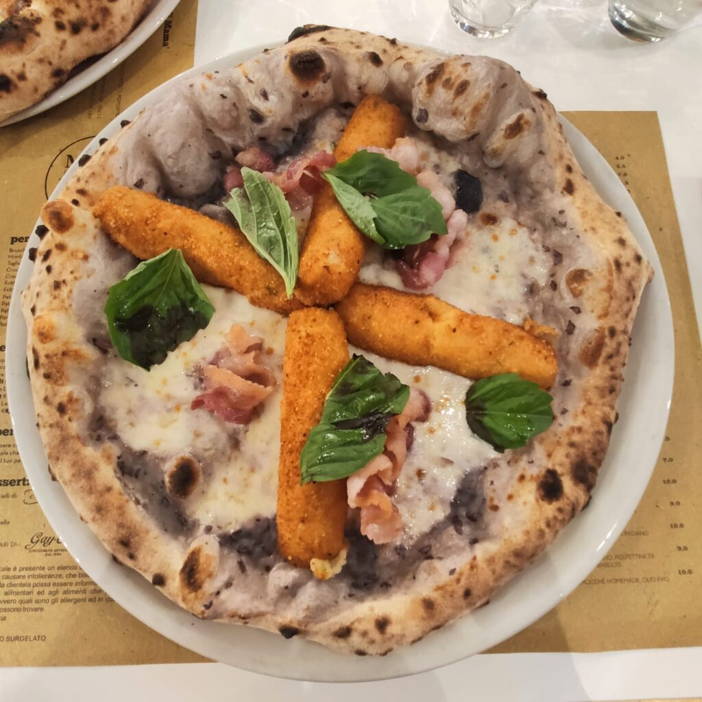 Mamà Pizza Passion pizza violetta